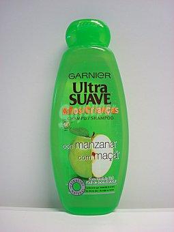 Garnier Champú ultra suave de niños con manzana verde y kiwi frasco 400 ml fácil de desenredar Frasco 400 ml
