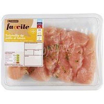 Eroski Faccile Solomillo de pollo al limón 300 g