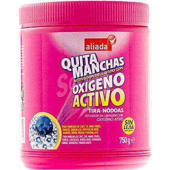 Aliada Quitamanchas oxígeno activo en polvo sin lejía Bote 750 ml