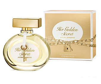 Antonio Banderas Colonia para mujer Golden Secret 50 ml