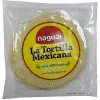NAGUAL Tortilla mexicana de maíz sin gluten Paquete 230 g