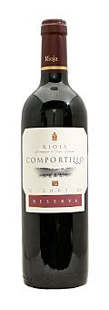Comportillo Vino tinto rioja reserva Botella 750 cc