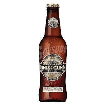 INNIS&GUNN Cerveza escocesa tipo Ale Rum Finish Botella 33 cl