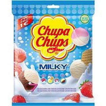 Chupa Chups Caramelo de Palo Milky Bolsa 84 g