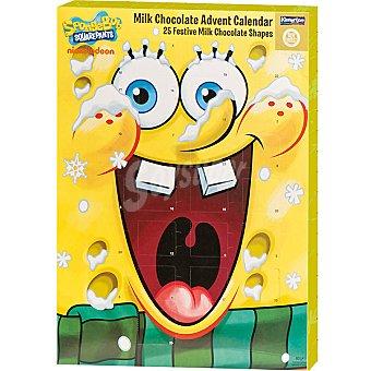 DEKORA Bob Esponja Calendario de Adviento con chocolates Envase 60 g