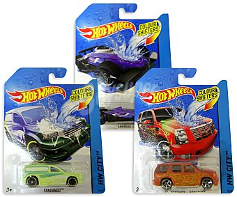 HOT WHEELS Miniatura de Vehiculos Color Change 1 Unidad