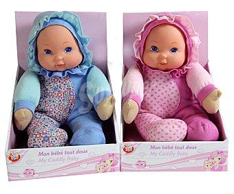 Rik&Rok Auchan Mi Primer Bebé Suave de 30 Centímetros 1 Unidad
