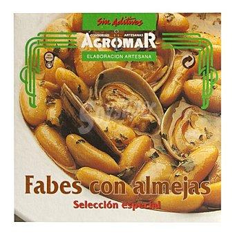 Consevas Agromar Fabes con almejas p.neto: , p. neto escurrido: 355 gr 355 g