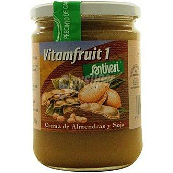 Santiveri Vitamfruit 1 crema de almendras y soja envase 500 g Envase 500 g