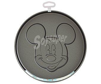 Disney Molde grande de acero con capa antiadherente, cara de Mickey Mouse en relieve que quedará impresa en tus bizcochos 1 unidad