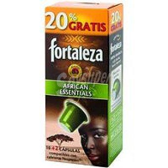 Fortaleza Café African Essentials Caja 12 monodosis