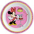 Plato decorado llano 22 cm 1 unidad Minnie Disney