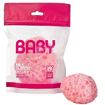 Suavipiel Esponja de baño Baby Milk Scented bolsa 1 unidad Bolsa 1 unidad