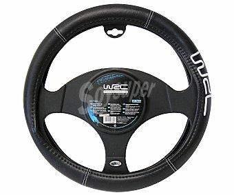 WRC Cubre volante de color negro con la marca impresa en el mismo 1 unidad