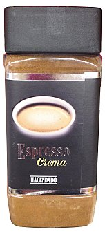 Hacendado Cafe soluble espresso PET 80 g