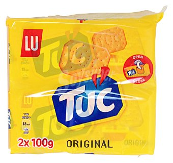 Tuc Cracker galleta salada ( paquete amarillo ) 2 paquetes de 100 g