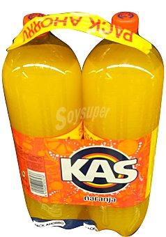 KAS Naranja con gas 2 x 2,25 l   (4,5 l)
