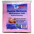 Bayeta multiusos cocina Paquete 3 unidades Santex