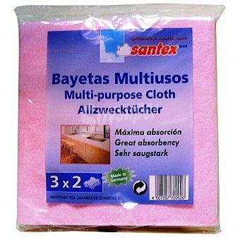 Santex Bayeta multiusos cocina Paquete 3 unidades