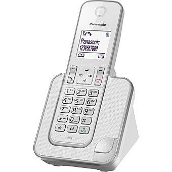 Panasonic Teléfono Inalámbrico Single en color blanco KX-TGD310  1 Unidad