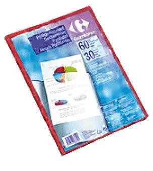 Carrefour Carpeta de fundas personalizable A4 30 fundas