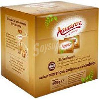 AZUCARERA Sobres de azúcar moreno 400 g