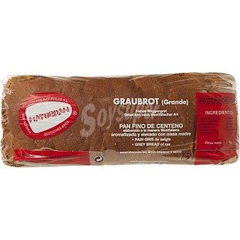 Naturpan pan gris elaborado con harina de centeno Unidad 1000 g