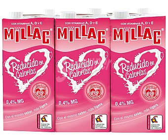 Millac Preparado lácteo bajo en calorías 6 unidades de 1 litro