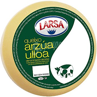 Larsa queso Arzua-Ulloa D.O. peso aproximado pieza 1 kg