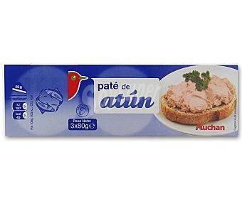 Auchan Paté de Atún 3x80g
