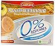 Galletas campurrianas 0% sin azúcares añadidos Caja 400 g Cuétara