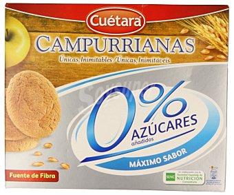 CUÉTARA Galletas campurrianas 0% sin azúcares añadidos 400 g