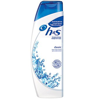 h&s Champú anticaspa Classic para cabello normal Frasco 385 ml