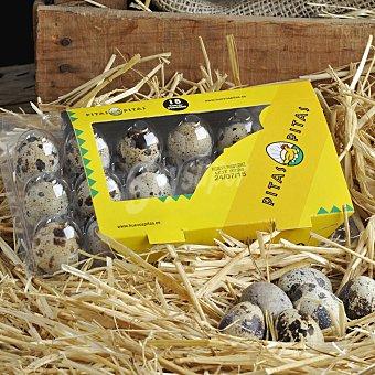 Pitas Huevos de codorniz 18 ud