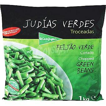 El Corte Inglés Judías verdes redondas troceadas Bolsa 1 kg