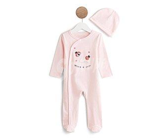 In Extenso Pijama pelele + gorrito para bebé Talla 68.