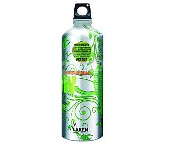 LAKEN Botella de boca estrecha con capacidad de 1 litro y fabricada en aluminio 1l