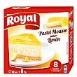 Preparado para hacer pastel mousse sabor limón Estuche 207 g (8 raciones) Royal