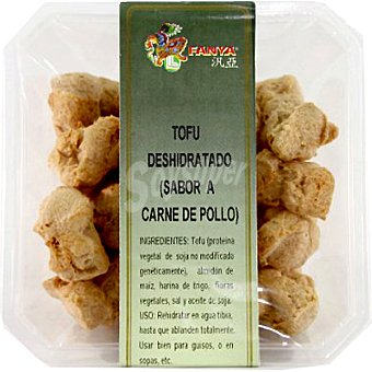 Fanya Tofu deshidratado sabor a carne de pollo Tarrina 75 g