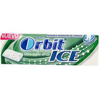 ORBIT White Chicle de hierbabuena Lc Paquete 14 g