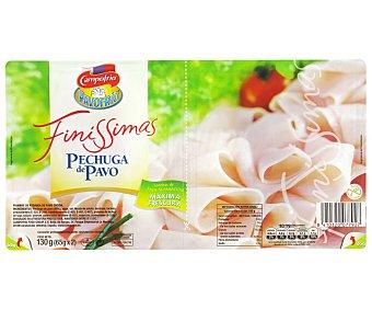 Finissimas Campofrío Pechuga de Pavo Lonchas 130 gramos