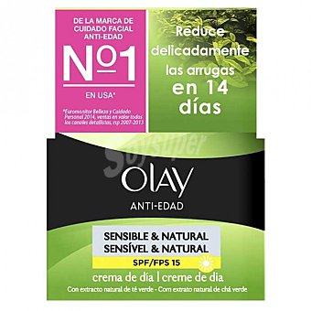 Olay Crema antiedad de día piel sensible Tarro 50 ml
