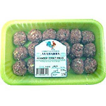 Alabarta Albóndigas de pollo y cerdo peso aproximado Bandeja 300 g