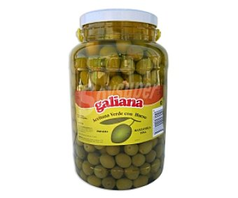 Galiana Aceituna manzanilla Tarro de 2,5 Kilogramos