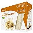 Tostadas ligeras de arroz integral y quinoa ecológicas y sin gluten Paquete 100 g Soria Natural