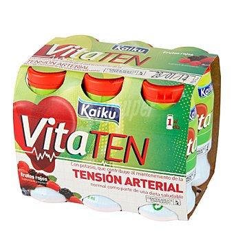 Kaiku - Vitaten Yogur de fresa Pack 6x70 g