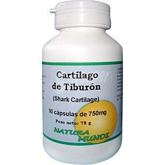 NATURA MUNDI Cartílago de tiburón 750 mg Envase 90 unidades