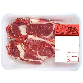 Añojo lomo en filetes peso aproximado bandeja 400 g 2-3 unidades