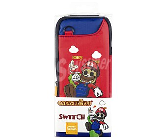 Indeca Bolsa Slim Mario Calaveritas para Nintendo Switch,