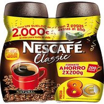 Nescafé Café Soluble Natural Pack 2